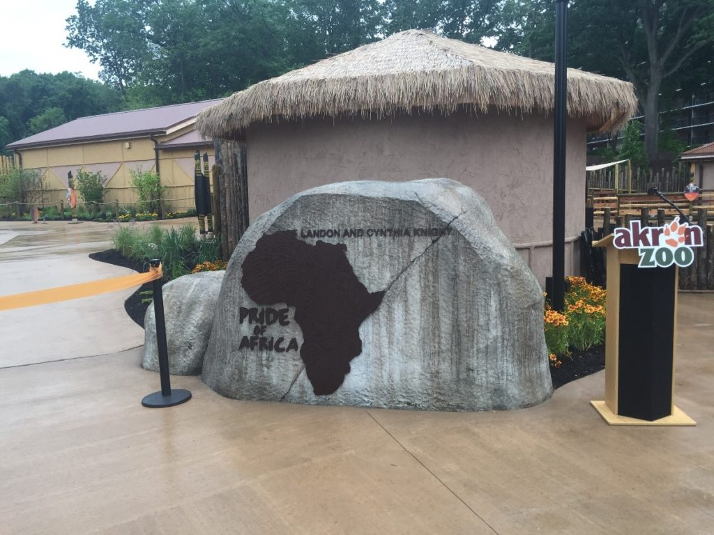 Prode of Africa Exhibit Entrance